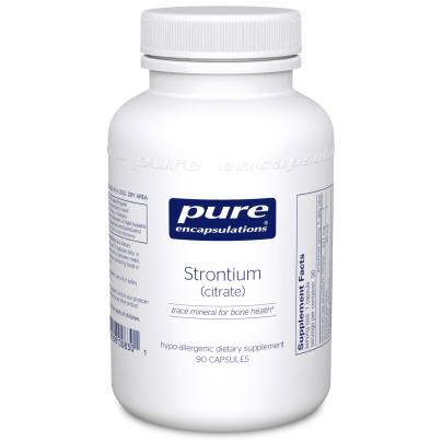 Strontium (Citrate) - Pure Encapsulations