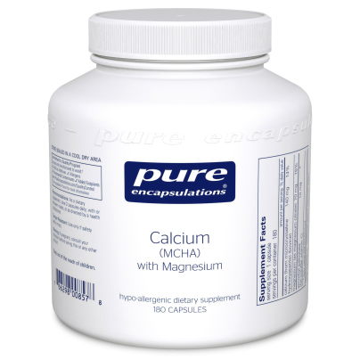 Calcium (MCHA) With Mag - Pure Encapsulations