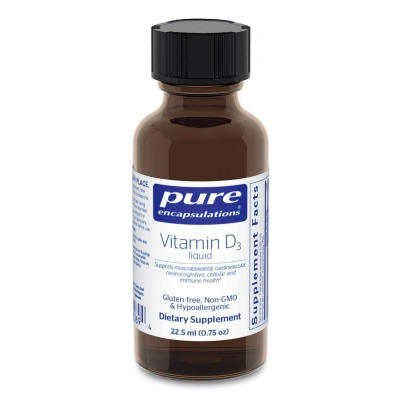 Vitamin D3 liquid - Pure Encapsulations