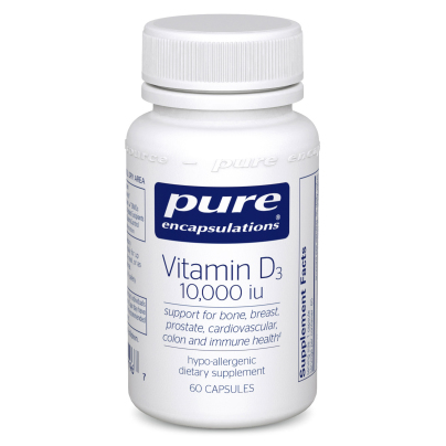 Vitamin D3  250mcg (10,000IU) - Pure Encapsulations