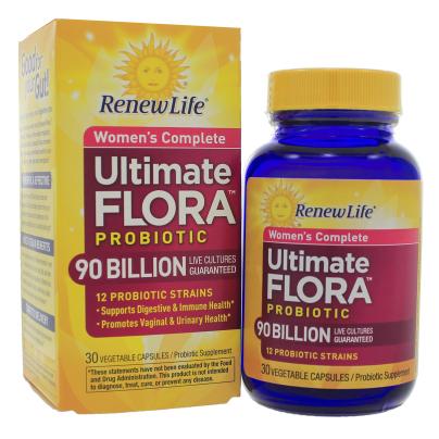 Ultimate Flora Womens Complete 90 Billion - Renew Life