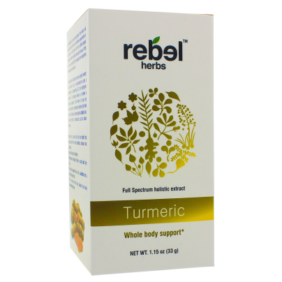 Turmeric - Holistic extract powder - Rebel Herbs