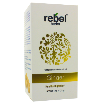 Ginger - Holistic extract powder - Rebel Herbs