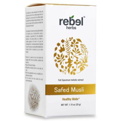 Safed Musil - Holistic extract powder - Rebel Herbs