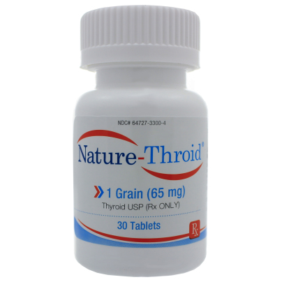 Nature-Throid 1 Grain - Nature-Throid RLC Labs