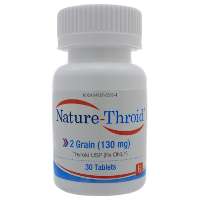 Nature-Throid 2 Grain - Nature-Throid RLC Labs
