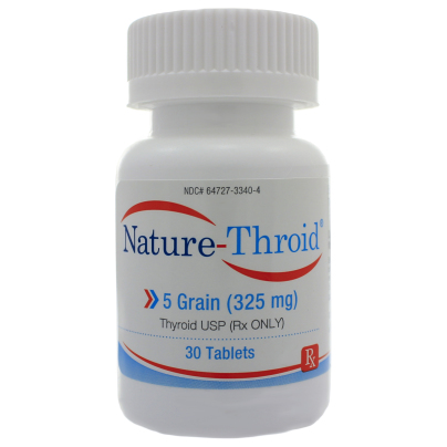 Nature-Throid 5 Grain - Nature-Throid RLC Labs