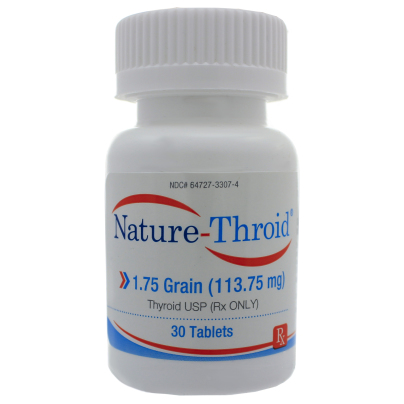 Nature-Throid 1.75 Grain - Nature-Throid RLC Labs