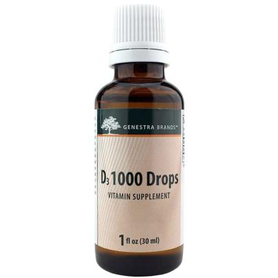 D3 1000 Drops - Seroyal/Genestra