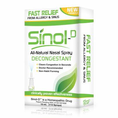 Sinol-D All Natural Decongestant product image