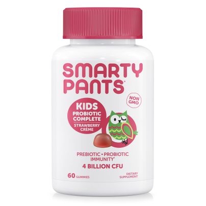 Kids Probiotic Complete Strawberry Creme - SmartyPants Vitamins