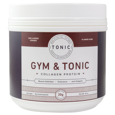 Gym & Tonic Collagen Protein - Tonic Products