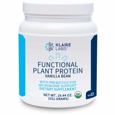 Functional Plant Protein Vanilla Bean with Prebiotics - Klaire Labs