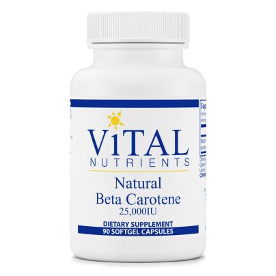 Beta Carotene Natural 25,000iu product image