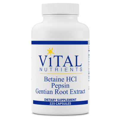 Betaine HCL Pepsin and Gentian Root Extract product image