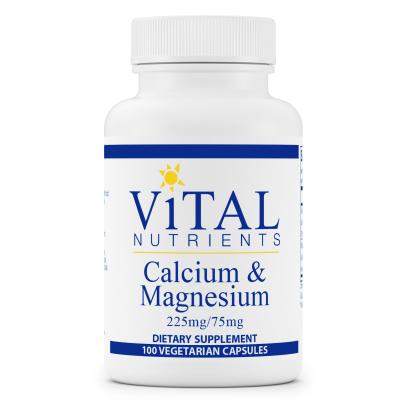 Calcium 225/Magnesium 75mg - Vital Nutrients