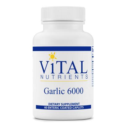 Garlic 6000 EC Caplets 650mg product image