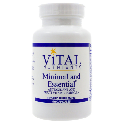 Minimal and Essential - Vital Nutrients