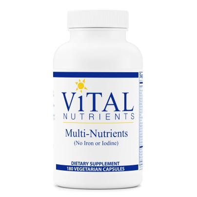 Multi-Nutrients no Iron or Iodine product image