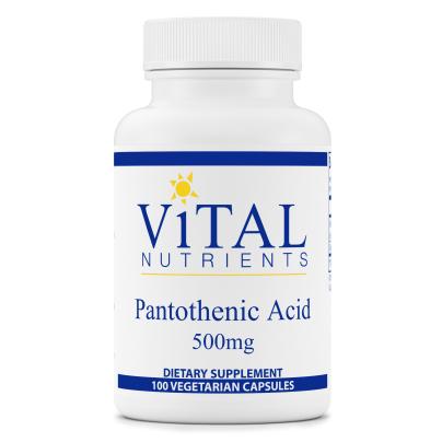 Pantothenic Acid 500mg product image
