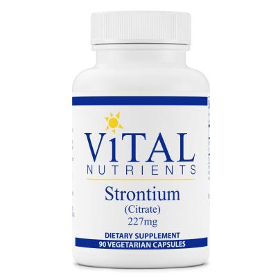 Strontium (Citrate) - Vital Nutrients