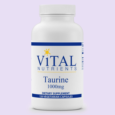 Taurine 1000mg - Vital Nutrients