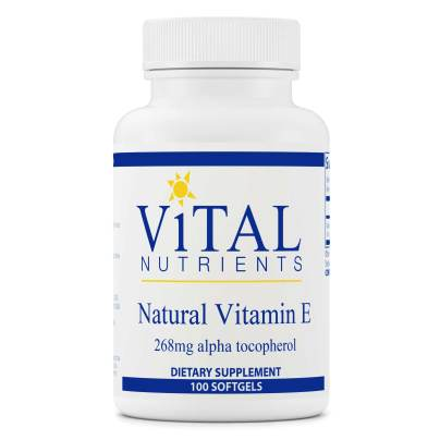 Vitamin E 400iu - Vital Nutrients