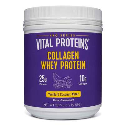Collagen Whey (Vanilla & Coconut Water) product image