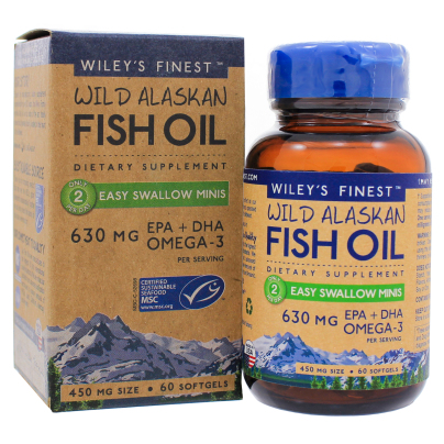 Easy Swallow Minis - Wileys Finest Fish Oils