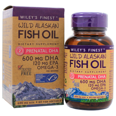 Prenatal DHA - Wileys Finest Fish Oils