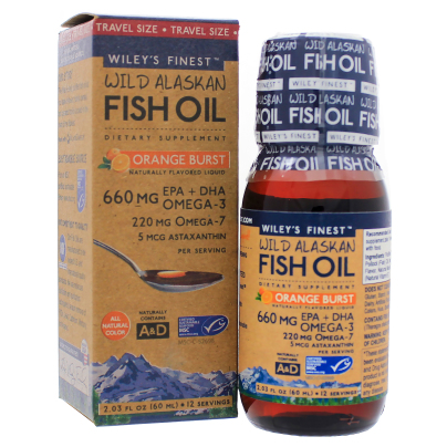 Orange Burst - Wileys Finest Fish Oils