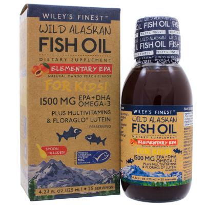 Elementary EPA - Wileys Finest Fish Oils