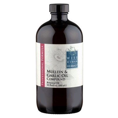 Mullein and Garlic Oil - Wise Woman Herbals