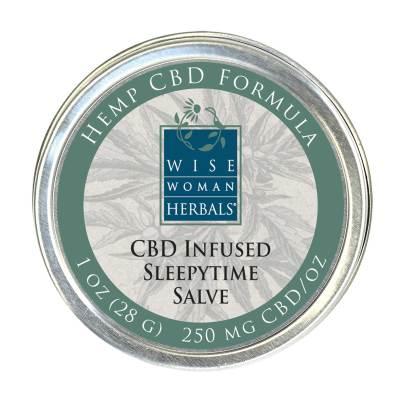CBD Infused Sleepytime Salve - Wise Woman Herbals