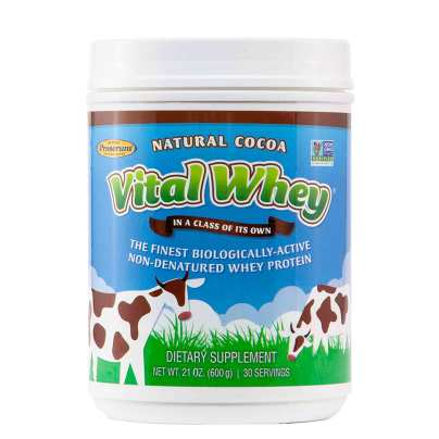 Vital Whey Natural Cocoa - Well Wisdom