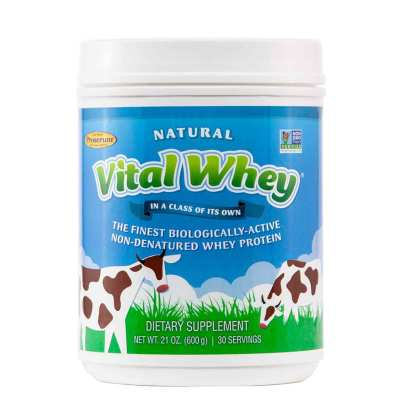 Vital Whey Natural Flavor - Well Wisdom