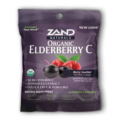 Organic Elderberry C - Berry Lozenges product image