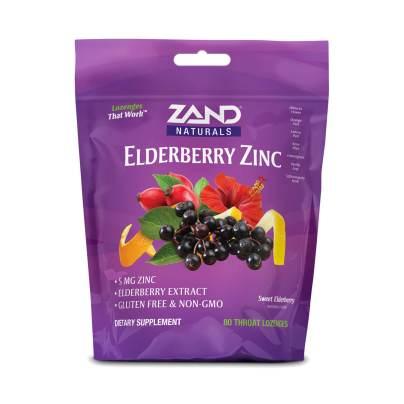 HerbaLozenge Elderberry Zinc Drops product image