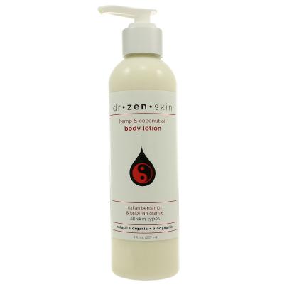 Hemp Moisturizing Body Lotion - Bergamot Orange - Dr Zen Skin