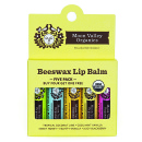 5 Pack Beeswax Lip Balm product image