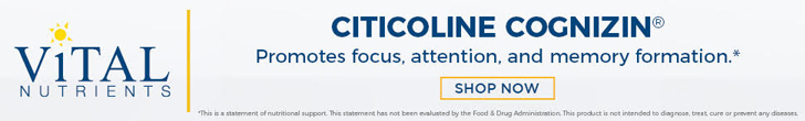 Shop Citicoline Cognizin from Vital Nutrients