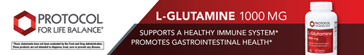 Shop L-Glutamine from Protocol for Life Balance