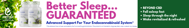 Shop Sleep Products from Emerald Health