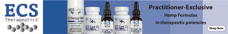 Shop Practitioner Hemp Formulas by ECS Therapeutics