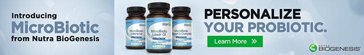 Shop MicroBiotic from Nutra BioGenesis