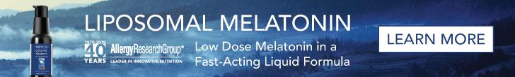 Shop Liposomal Melatonin from Allergy Research