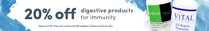 Save 20% on our best selling digestive immune support products