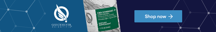 Shop CBD Synergies from Quicksilver Scientific