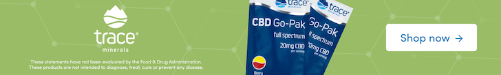 Shop CBD Go-Pak from Trace Minerals