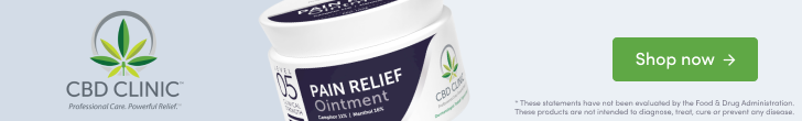 Shop Level 5 - Pain Relief Ointment from CBD CLINIC